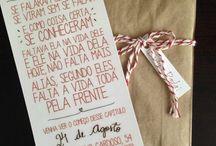 Convites de casamento ♥