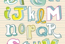 Hand lettering / by Susan Gonsalves