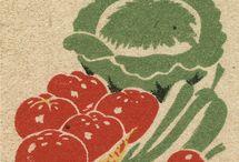 vintage vegetable