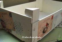 Caixes de fruites / by Maria Arrufat