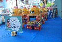 Robot birthday