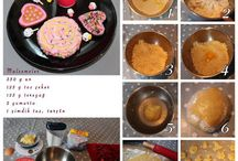 süslü kurabiyelerim / ev yapımı süslü şekerli kurabiyeler