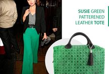 Susie green Clover bag - Marlafiji