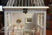 Mini Rooms Inspiration / Inspirations for miniature rooms boxes etc