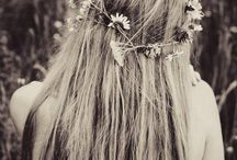 a garden of flowers in your hair
