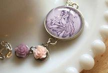 Fairytale & Mermaid Jewelry by Lizzie M. Press / www.lizziempress.com / by Liz Masters