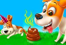 Собачья жизнь. Секретная щенячья ВЕЧЕРИНКА. Мультик игра про собачку. Тайная жизнь домашних животных