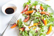 Healthy Salad Recipes / Super sensational delicious and healthy salad recipes. All vegetarian some vegan.