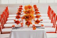 Orange Wedding Ideas / http://weddingskenya.com