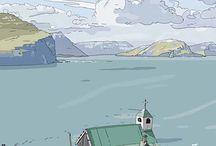 reportage illustration