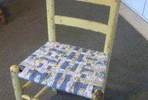 Weaving chair bottoms