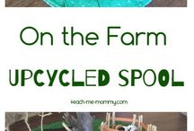 The Farm upcycled world