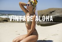 ♡ V I N T A G E | A L O H A ♡ / San Lorenzo Bikini's Fall 2015 Collection