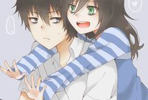Tomoko and tomoki (brother and sister)