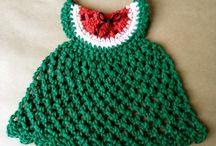 Crochet - Dishcloths, Washcloths / by Rhonda Halstead
