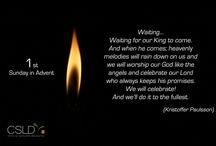 Advent / One poem every Sunday in Advent. / by Salvation Army CSLD