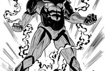 MANGA HEROES / Alcuni miei disegni di personaggi anime e manga. Per vederne di più, visita il mio sito web www.goneken.com