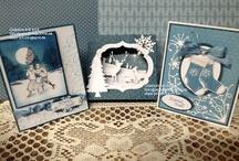 Cards - Diorama cards / by Carine Vanheste