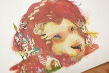 足立明里 作品  Akari  Adachi art works / 足立明里の作品