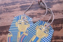 Ancient Egypt (KMT) Unit Study / Resources (artifacts, lesson plans, crafts, coloring pages, etc) for children on Ancient Egypt  / by The Curvy Vegan