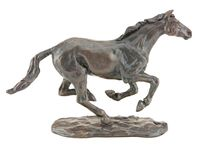 Bronze Horse Sculpture by Sue Maclaurin