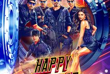 Happy New Year  / Happy New Year is an upcoming Bollywood film directed by Farah Khan staring Deepika Padukone, Shahrukh Khan, Abhishek Bachchan, Boman Irani and Sonu Sood. Produced by Red Chillies Entertainment. / by Happy New Year