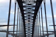 Sydney / Australia's most popular and tourist attraction, the Harbour bridge.
