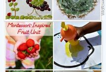 Fruit Fantasia / Fruit crafts and activities for kids