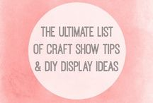 Craft show and display ideas / Ideas for craft shows / by Karen Devonshire