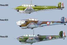 Aerei Campagna di Francia 1939 / I velivoli impegnati durante la campagna di Francia