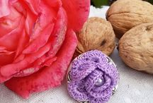 Rocreanique - Flower brooches