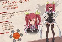 Rakudai Kishi no Cavalry | Stella Vermillion