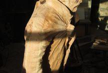 Esculturas en madera de Richard Yasic / ARTE DE LA MADERA