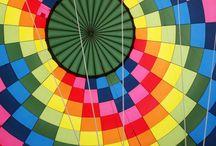 Jesienny lot balonem nad Mazurami / Nie ma nic piękniejszego niż jesienny lot balonem nad Mazurami! Widoki - BEZCENNE :) Na zdjęciach Zełwągi i okolica.
