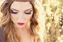 Hair y makeup ^_^ / by JANET JURADO