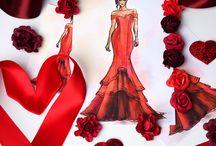 Prom 2016 Dress Illustrations / Current Obsessions. <3