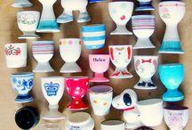 portauovo egg cup  coquetiers / ceramiche e altro