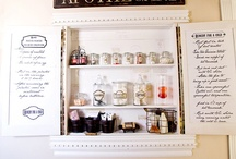 Craft Room and Storage Ideas / Ideas I like  / by Cut Two Pieces