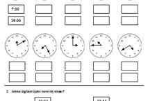 Klokken/ tijd