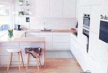 Light And Airy Kitchens