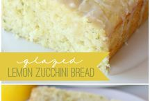 Baked goods / Lemon zucchini bread
