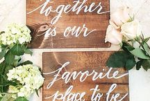 Esküvő - Táblák és Idézetek