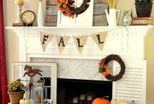 Fall / fall decor and ideas