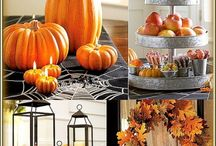 Haloween/autumn / All kinds of ideas on how to decorate your home and food :)