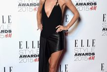 ELLE Style Awards 2015 / ELLE Style Awards 2015  - Sky Garden @ The Walkie Talkie Tower in London, England … The red carpet was a mixture of classic chicness and modern boldness … We picked a few .. placing BLACK color in front row!
