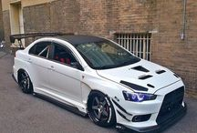 Mitsubishi Lancer evo... / Awesome pictures, about Mitsubishi Lancer evos.