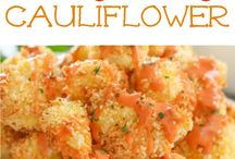 Cauliflower with bang bang sauce