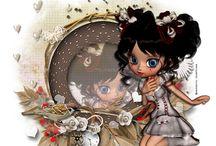 ♥Artes by TecaEuzebio 2012♥ / Eu amo a arte em PSP e aqui estão os  meus trabalhos. I love art in PSP and here are my works.