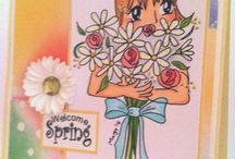 Cards - Spring / by Ema Martinez