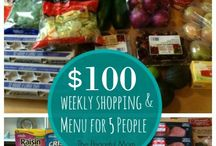 GROCERY SHOPPING/MEAL PLANNING...